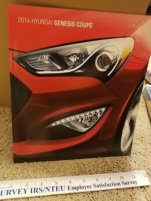 2014 Hyundai Genesis Coupe Brochure RARE HTF MINT Condition
