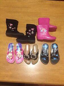 Little Girl Shoe Bundle Size 8-10 Ballajura Swan Area Preview