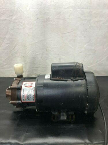 March TE-6T-MD Pump w/ Marathon Electric 1QC56C4F5534B Motor (1/2 HP)