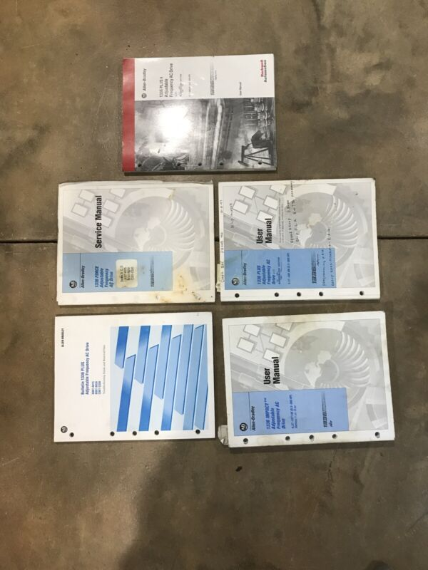 Allen Bradley 1336 Plus Adjustable Frequency Ac Drive Users Manuals
