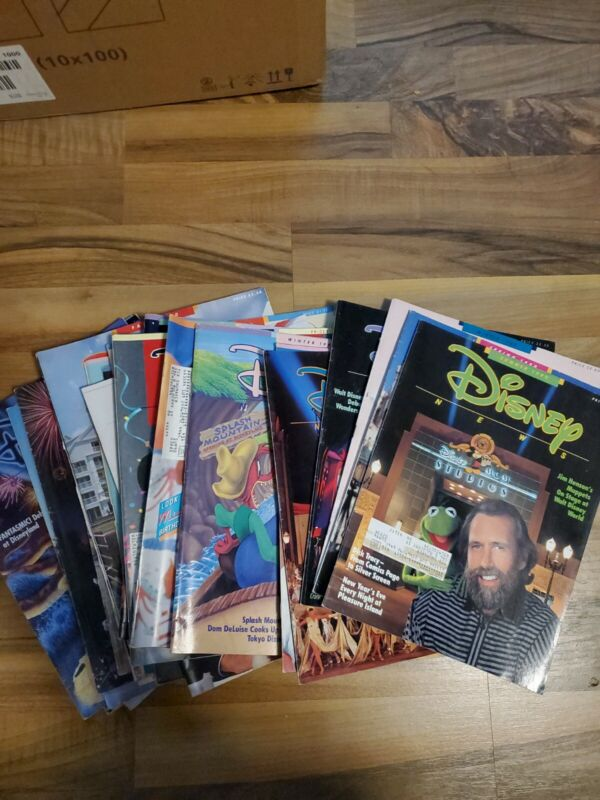 Lot of 29 issues Disney News Magazine 1986+