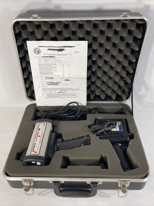 Kustom Signals Inc. Pro Laser III Lidar. CERTIFIED 01/21/2020. READY FOR USE🔥🔥