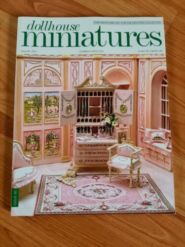 Dollhouse Miniatures Magazine Issue 80 2021 **Free Shipping**