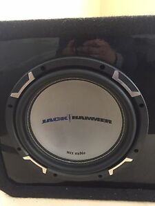 """MTX Subwoofer 12"""" with a Nicee box for SALE"""