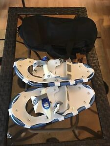 Snow shoes with carry case