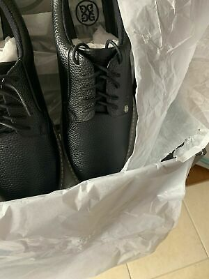 Men's GFore Collection Gallivanter Golf Shoe Onyx Size 9.5 New In Box