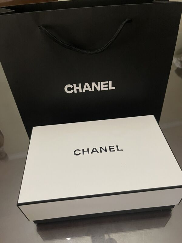 Empty Chanel Box And Bag