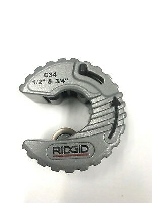 Ridgid Copper Pipe Cutter 12 34 Slice Tube Cut 57023