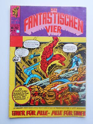 Marvel Wiliams Die Fantastischen Vier Superhelden Nr. 252 aus 1973