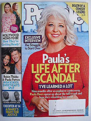 Paula Deen  February 22  2014 People  Robin Thicke   Paula Patton