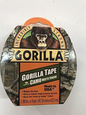 Gorilla Tape Mossy Oak Camo Matte Finish 1.88 In. 9 Yd.