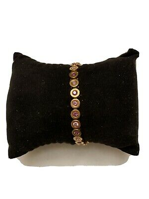 Rustic Cuff Angeline Pink And Gold