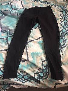 Lululemon size 12 with mesh on the legs!