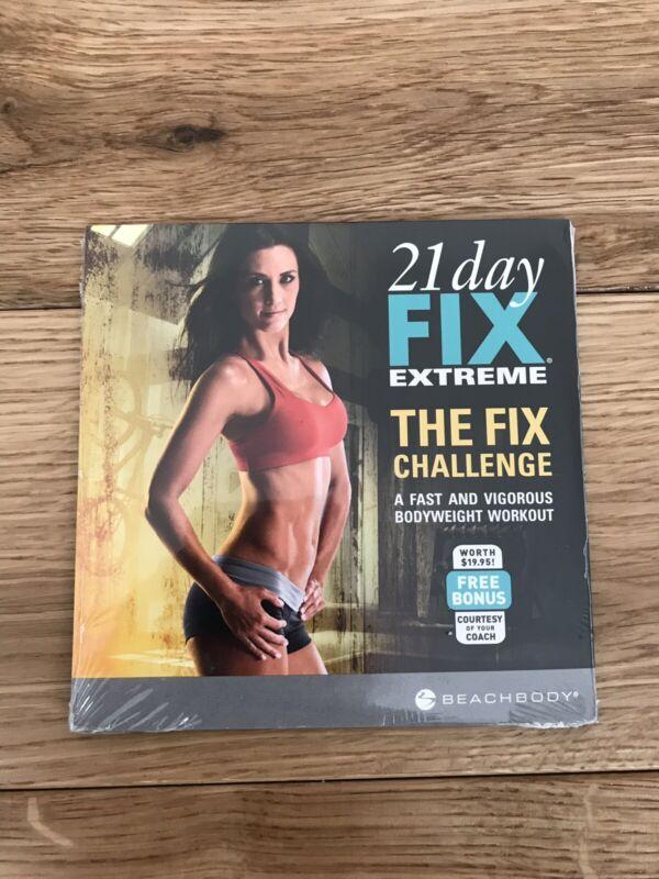 Beachbody 21 Day Fix Extreme Workout The Fix Challenge Bonus DVD NEW Sealed
