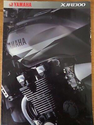 Yamaha XJR1300 Motorcycle Sales Brochure 2002