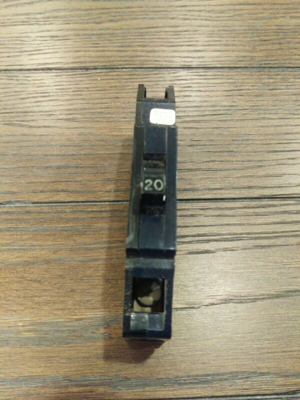 ZINSCO QB20 1 POLE 20 AMP BOLT ON BREAKER