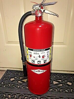 Amerex 423 Abc Fire Extinguisher Dry Chemical 20 Lb Mfg In 2019 New