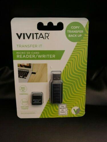 New Vivitar MICRO SD CARD READER/WRITER