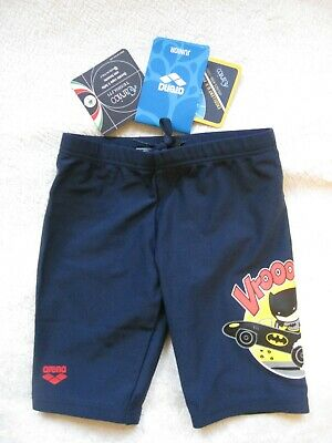 ER ARENA batman kids boy UV navy, Gr. 98, NEU mit Etikett (Boys Navy Badehose)