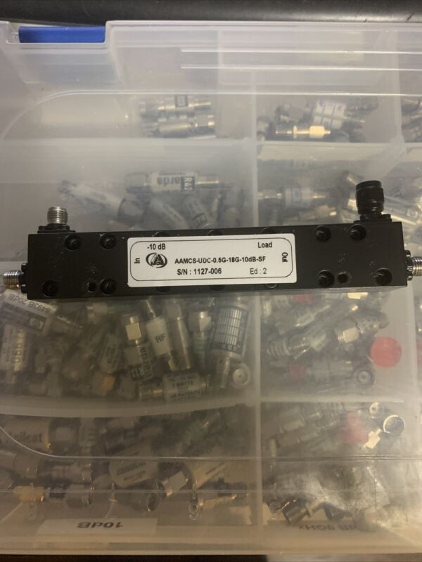 AAMCS High Power Directional Coupler 0.5-18GHz 30W SMA 20dB