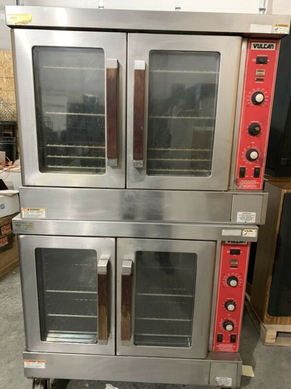 VULCAN Gas Convection Oven Model SG4D-1 Commercial DOUBLE Deck FULL SIZE