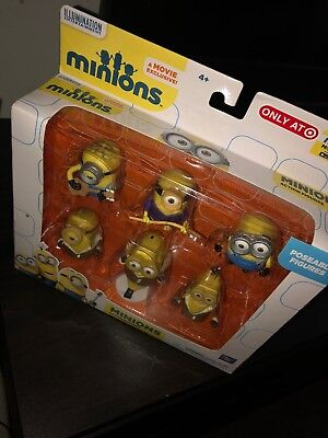 Despicable Me Minions Collectible Figure Set 6 piece (Only at - Collectible Minions