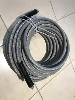 Suttner 100 Gray 4000 Psi 38 Pressure Washer Hose Max Shb3v00383 New