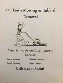 Gardening and rubbish removal