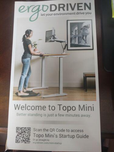 Topo Mini by Ergodriven | The Smaller Not-Flat Standing Desk