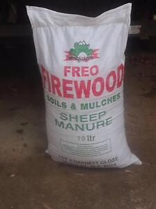 Sheep Manure And Mulches 70L & 100L Bags. Perth Perth City Area Preview