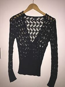 Witchery Black Jumper Size Small $20 Scarborough Stirling Area Preview