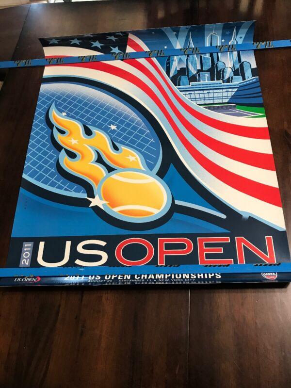 2011 US Open RARE VINTAGE ORIGINAL Poster