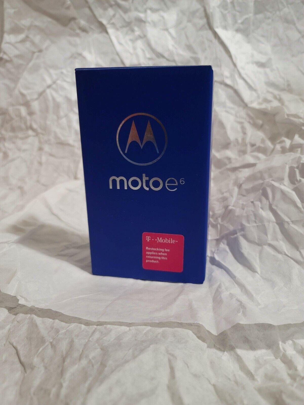 как выглядит T-Mobile Moto e6 16GB smartphone фото