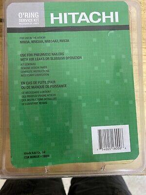 Hitachi Nv83a Coil Nailer O-ring Kit - 18000 - New Oem Service Part