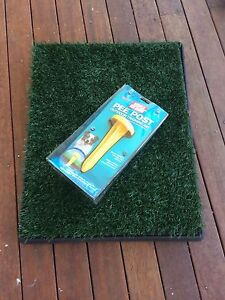 Puppy pee pad, pet toilet with free pee post Chermside West Brisbane North East Preview