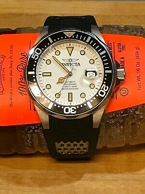 Invicta 11753 Grand Diver Automatic White Dial Watch