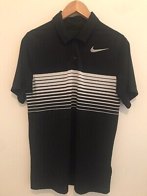Mens Nike Golf Polo Black Size Small