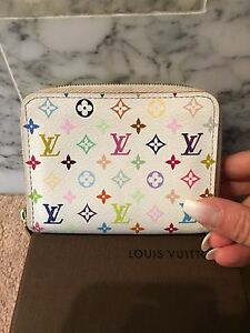 Authentic Louis Vuitton multicolour items