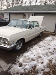 1963 Chevy belair runs and drives good