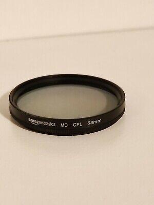Filtro polarizzatore 58 mm Amazonbasics
