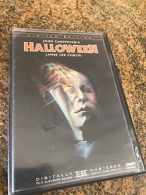 Halloween Limited Edition DVD Two Disc Individually Numbered OOP Rare