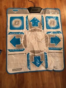 Wii Dance Dance Revolution mat and game