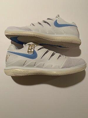1dae18a21331 RARE Nike Air Zoom Vapor X HC Tennis Shoe WIMBLEDON FEDERER AA8030-140 size  11.5