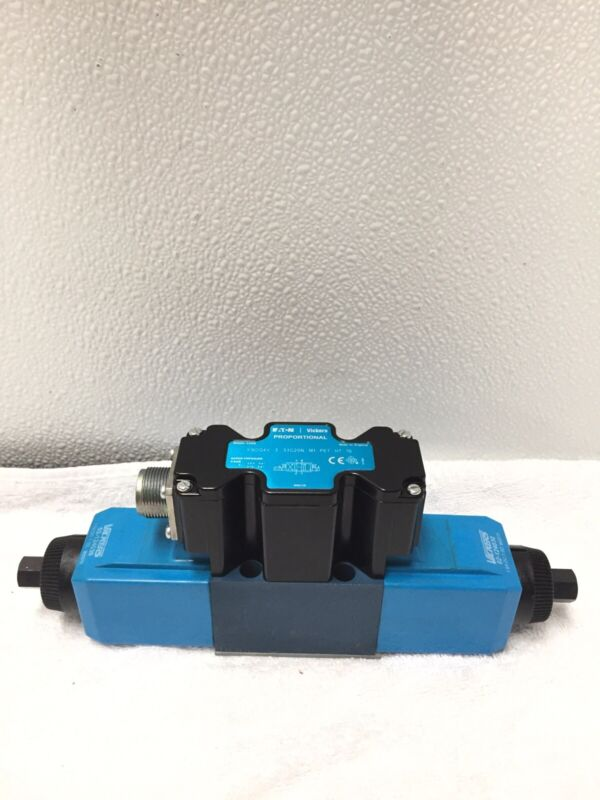 Eaton//Vickers MCD 6530 Solenoid Operated Hydraulic Directional Valve 12v new