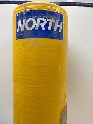 North Safety Products Metal Scba Oxygen Air Tank Cylinder 2216psi. Used