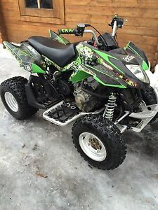 08 Arctic cat 250 with extras