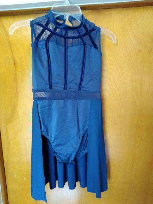 Weissman Girls Navy Blue Dance Dress Size LC