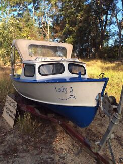Plywood Runabout with Outboard Yandina Maroochydore Area Preview