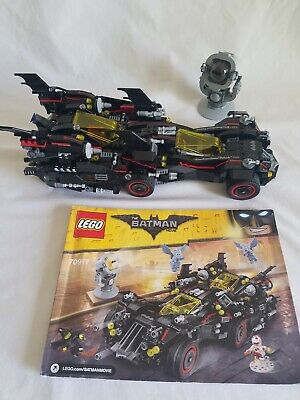 LEGO 70917 Ultimate Batmobile ONLY - NO MINIFIGURES Batman Movie w instructions