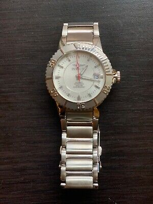 Mens Silver Invicta Watch Model No 3354 needs battery